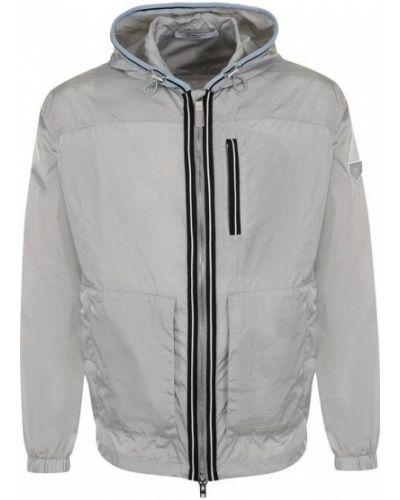 Куртка с капюшоном на молнии с логотипом Givenchy