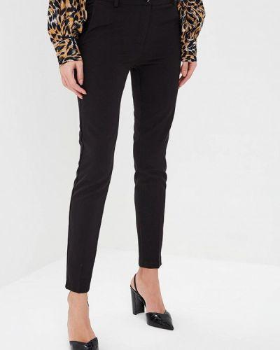 Черные классические брюки с карманами Miss Miss By Valentina