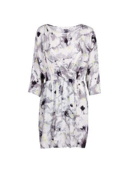 Облегающее платье с запахом с рисунком с вырезом из вискозы NÜmph