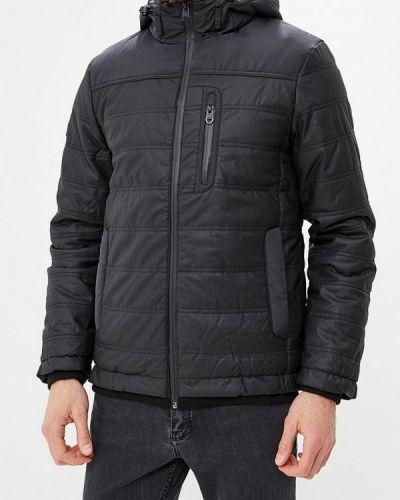 Утепленная куртка демисезонная черная Top Secret
