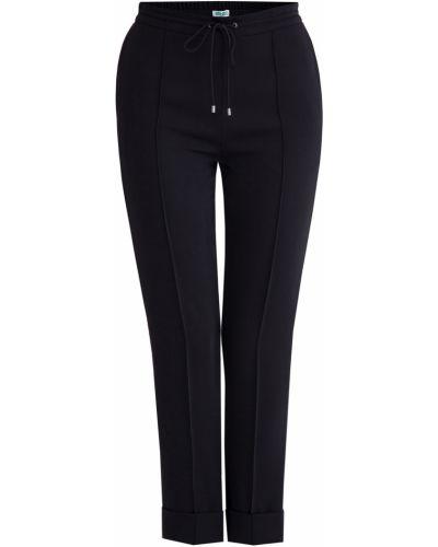 Укороченные брюки зауженные с отворотами Kenzo