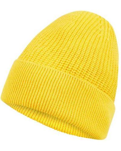 Żółty bawełna bawełna czapka baseballowa z mankietami Mcneal