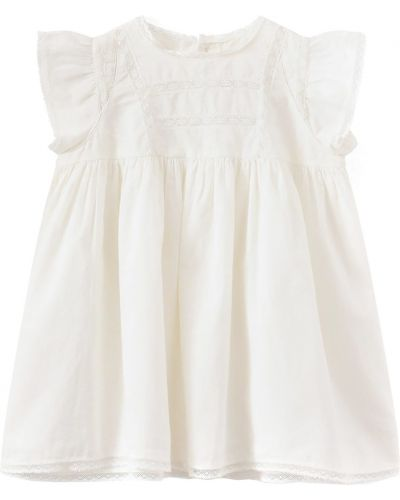 Белое платье Bonpoint