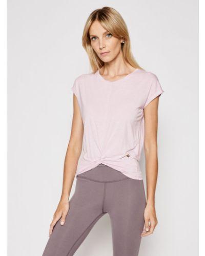 Różowa t-shirt Deha