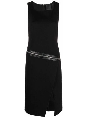 Sukienka asymetryczna - czarna Givenchy