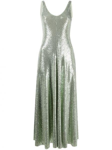 Платье без рукавов - зеленое Forte Forte