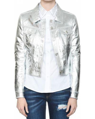 Куртка весенняя серебряный Albano