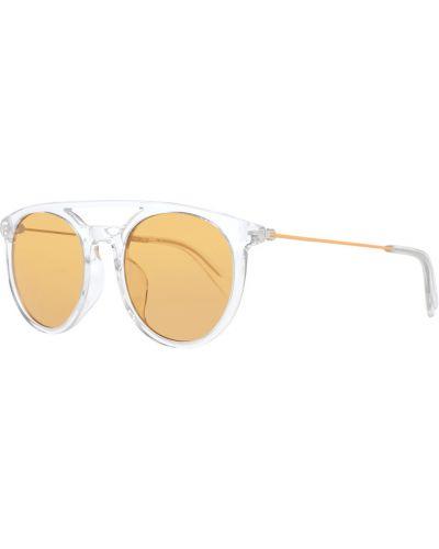 Żółte okulary Diesel