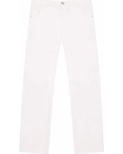 Джинсы белый облегающий Young Versace