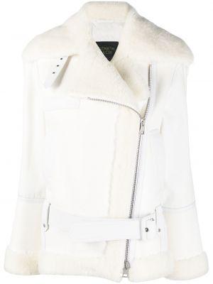 Z rękawami bawełna skórzany kurtka pilotowa Mr And Mrs Italy