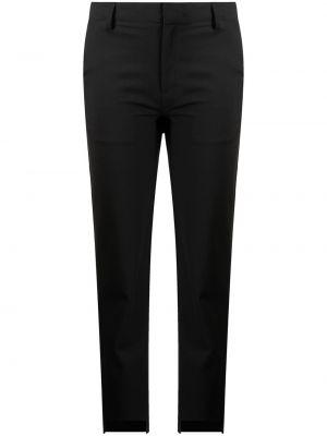 Укороченные брюки - черные Monse