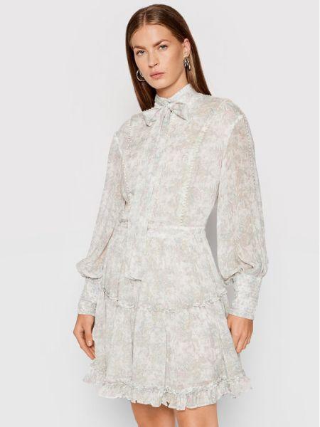 Biała sukienka na lato Ixiah