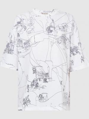 Белая футболка Emilio Pucci