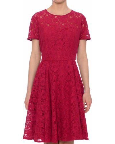 Платье весеннее красный Silvian Heach