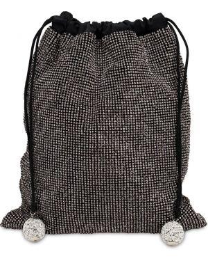Czarna torebka srebrna Ca&lou