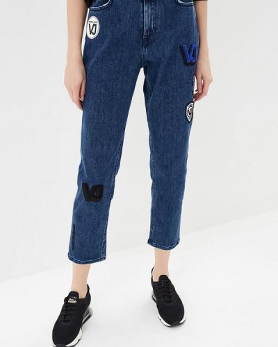 Синие джинсы Versace Jeans