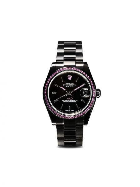Zegarek mechaniczny - czarny Mad Paris