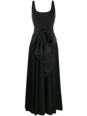 Платье макси без рукавов - черное Polo Ralph Lauren