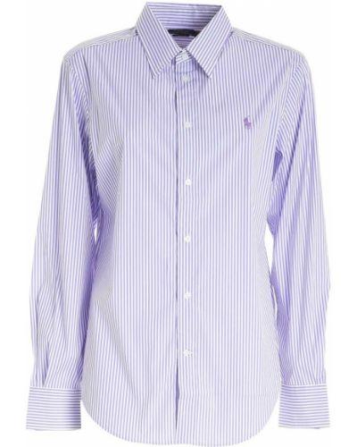 Fioletowa koszula Polo Ralph Lauren