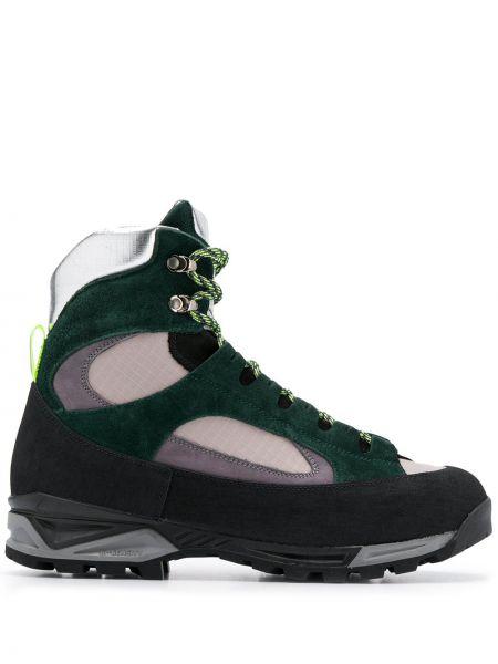 Кожаные ботинки на шнуровке Diemme