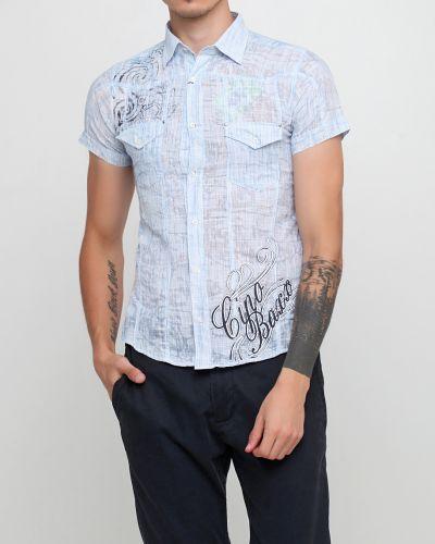 Рубашка - голубая Cipo & Baxx