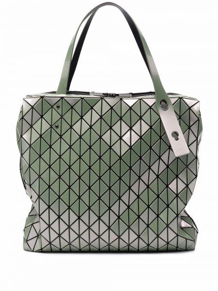 Zielona torebka z nylonu Bao Bao Issey Miyake