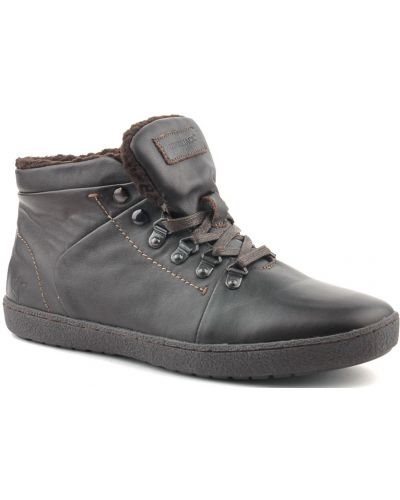 Кожаные ботинки - коричневые Lumberjack