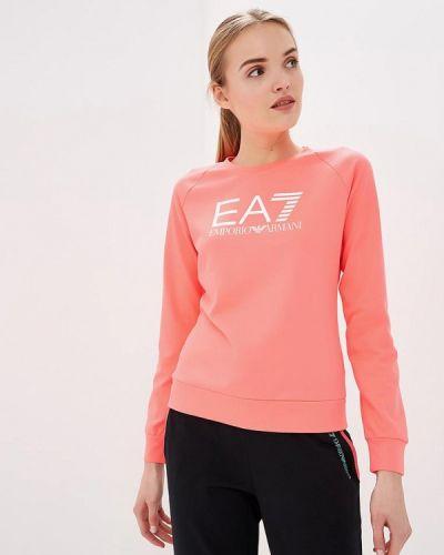 Розовый свитшот Ea7
