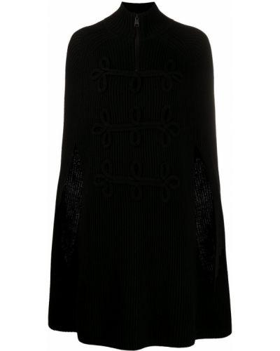 Narzutka wełniana - czarna Karl Lagerfeld