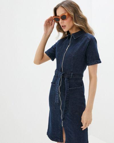 Синее джинсовое платье Yumi