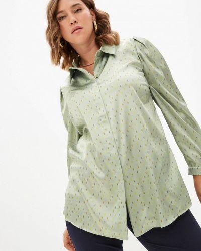 Зеленая зимняя блузка Silver String