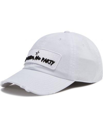 Biała czapka Pinko