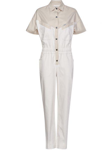 Хлопковый комбинезон - белый Forte Couture
