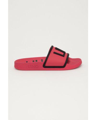 Różowe sandały na obcasie Liu Jo