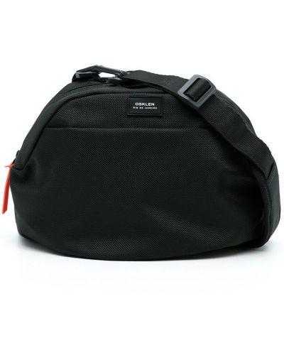 Czarna torba z nylonu Osklen