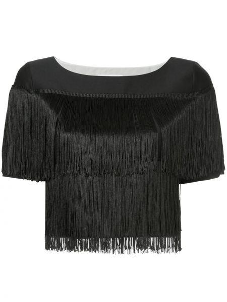 Шелковая футболка - черная Ck Calvin Klein