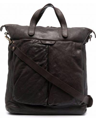 Кожаная сумка - коричневая Officine Creative