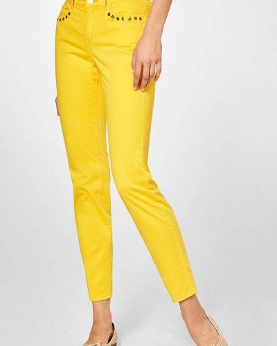 Желтые брюки зауженные Pedro Del Hierro