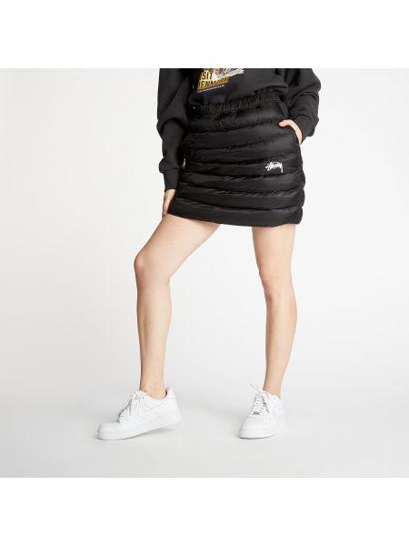 Брендовая черная юбка Nike