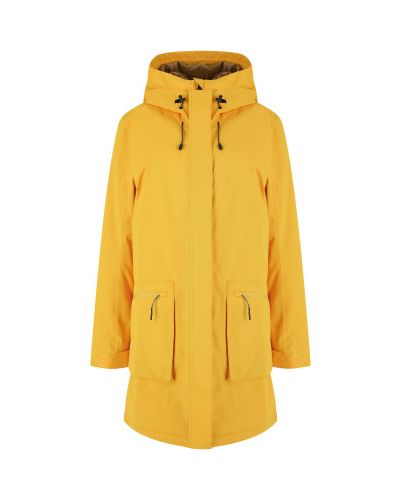 Куртка с капюшоном - желтая Icepeak