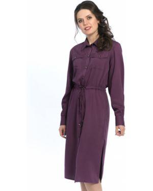 Платье макси длинное - фиолетовое Modellos