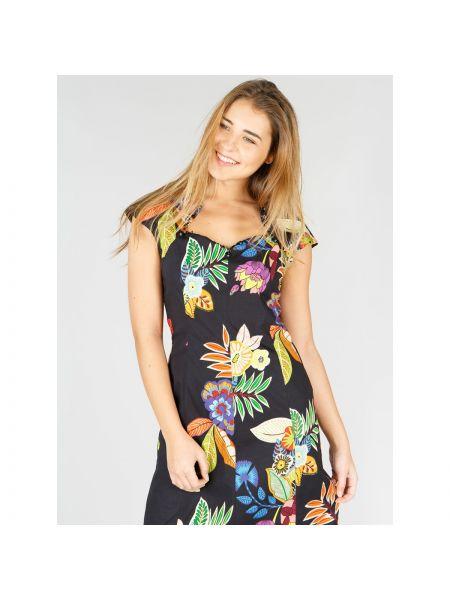 Платье миди мини с цветочным принтом Rene Derhy
