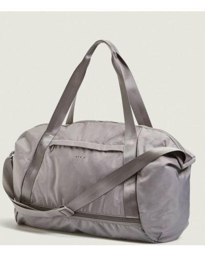 Спортивная сумка серая Oysho