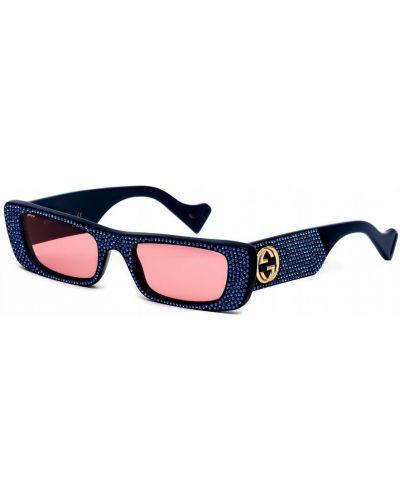 Okulary - niebieskie Gucci