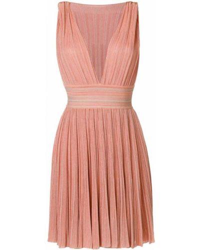 Оранжевое платье мини Antonino Valenti