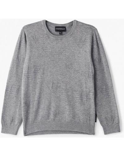 Серый свитер Emporio Armani