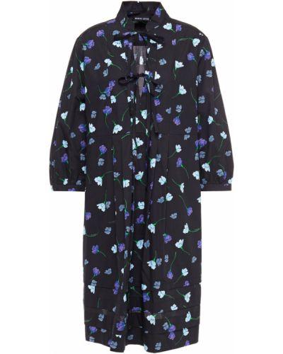 Хлопковое платье мини - черное Markus Lupfer