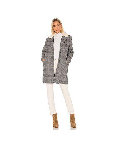 Шерстяное пальто на пуговицах с капюшоном Levi's®