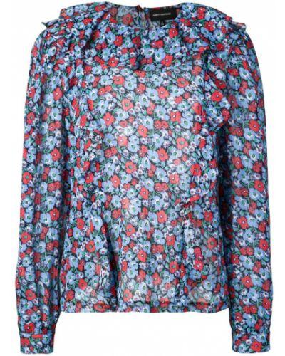 Свободная блузка с длинным рукавом с оборками Robert Rodriguez Studio