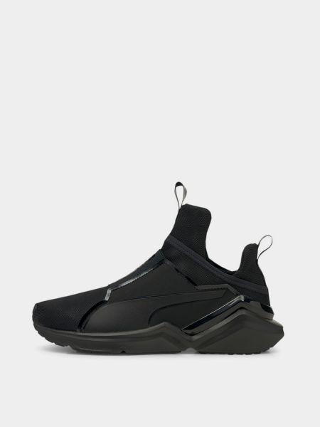 Черные кроссовки для тренировок Puma